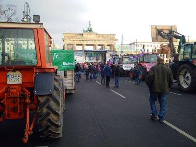 Demo in Berlin wir haben es satt